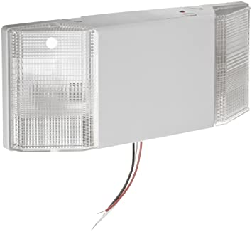 Morris Products 73110 Emergency Lighting Prism Unit, White, 12u0026quot;  Length, 5u0026quot;