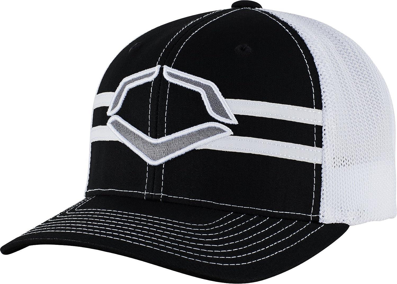 WTV1035344010LGXL Black//White Large//X-Large Wilson Sporting Goods Evoshield Grandstand Flexfit Hat 7 3//8-7 5//8