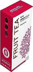 amapodo tè alla frutta - miscela 100% naturale di tè alla frutta, ibisco, uva sultanina, cannella, cannella, cannella, buccia di rosa, scorza di rosa, chiodi di garofano, scorza di pomeranza, portinnesto di zenzero - Made in Germany - Trattamento Detox Body Fit Tea - vegan