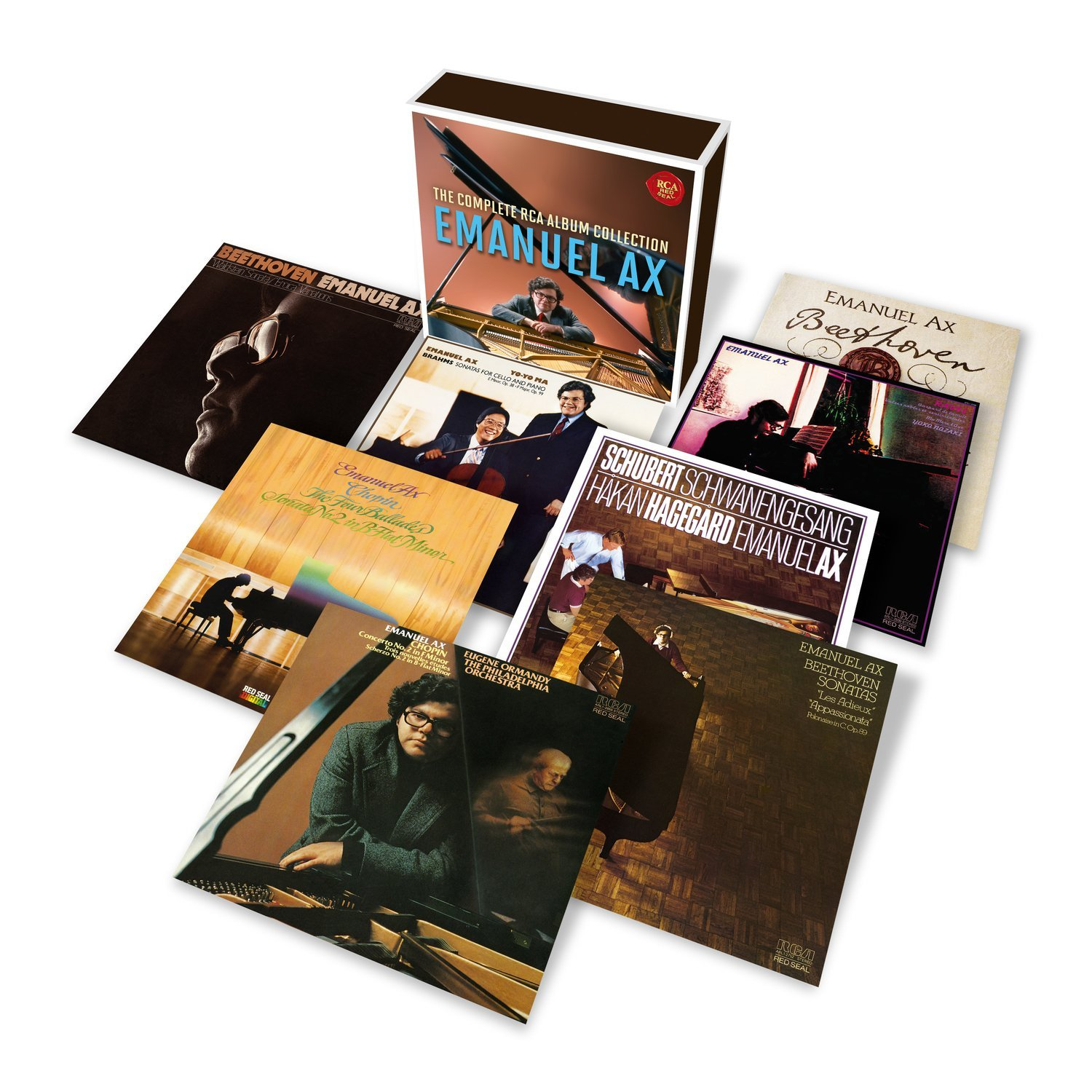 CD : Emanuel Ax - Complete Rca Album Collection (CD)