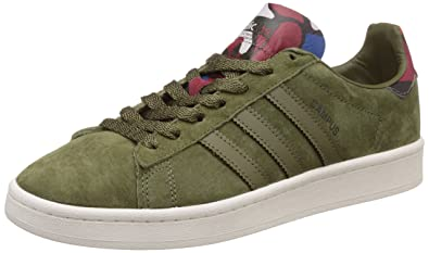 pretty nice ca7f4 8384d Image Unavailable. Image not available for. Colour adidas Originals Mens  Campus Olicar and Corblu Leather Sneakers ...