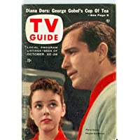1956 TV Guide Oct 20 Perry Como - Colorado Edition Very Good to Excellent (4 out of 10) Used Cond. by Mickeys Pubs