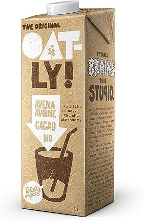 Oatly - Bebida de avena con chocolate ecológica - 1 l: Amazon.es: Salud y cuidado personal