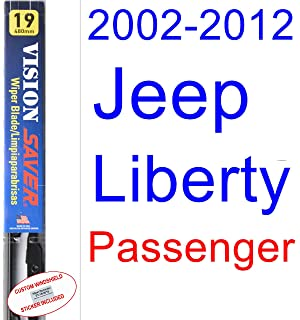 2002-2012 Jeep Liberty Wiper Blade (Passenger) (Saver Automotive Products-Vision