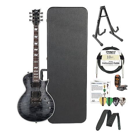 Esp lec1001frstblk-kit02 fr STBLK Metalworks guitarra eléctrica