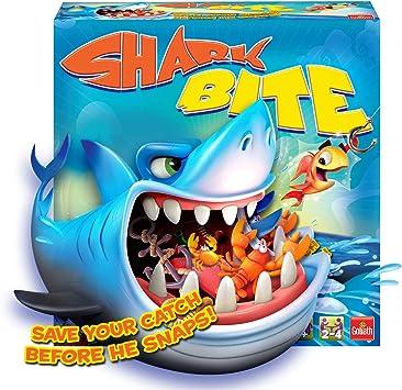Juego de Mesa de Pesca Shark Bite GL60034 de Goliath para Toda la Familia: Amazon.es: Juguetes y juegos