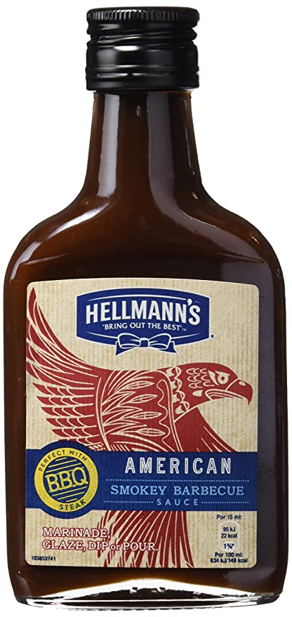 HellmannS American Smokey Barbecue Sauce - 200 ml