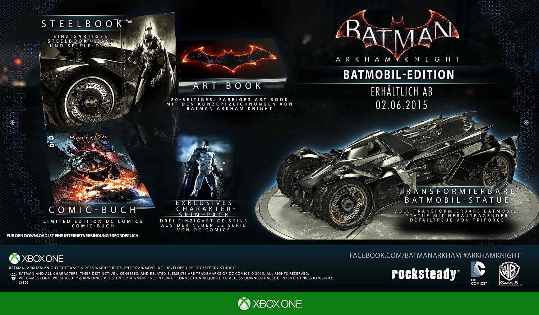 Batman: Arkham Knight - Batmobil Collectors Edition XBOX ONE ...
