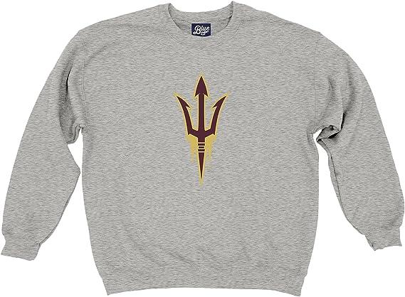 Blue84 NCAA mens Crewneck Sweatshirt Gray Icon