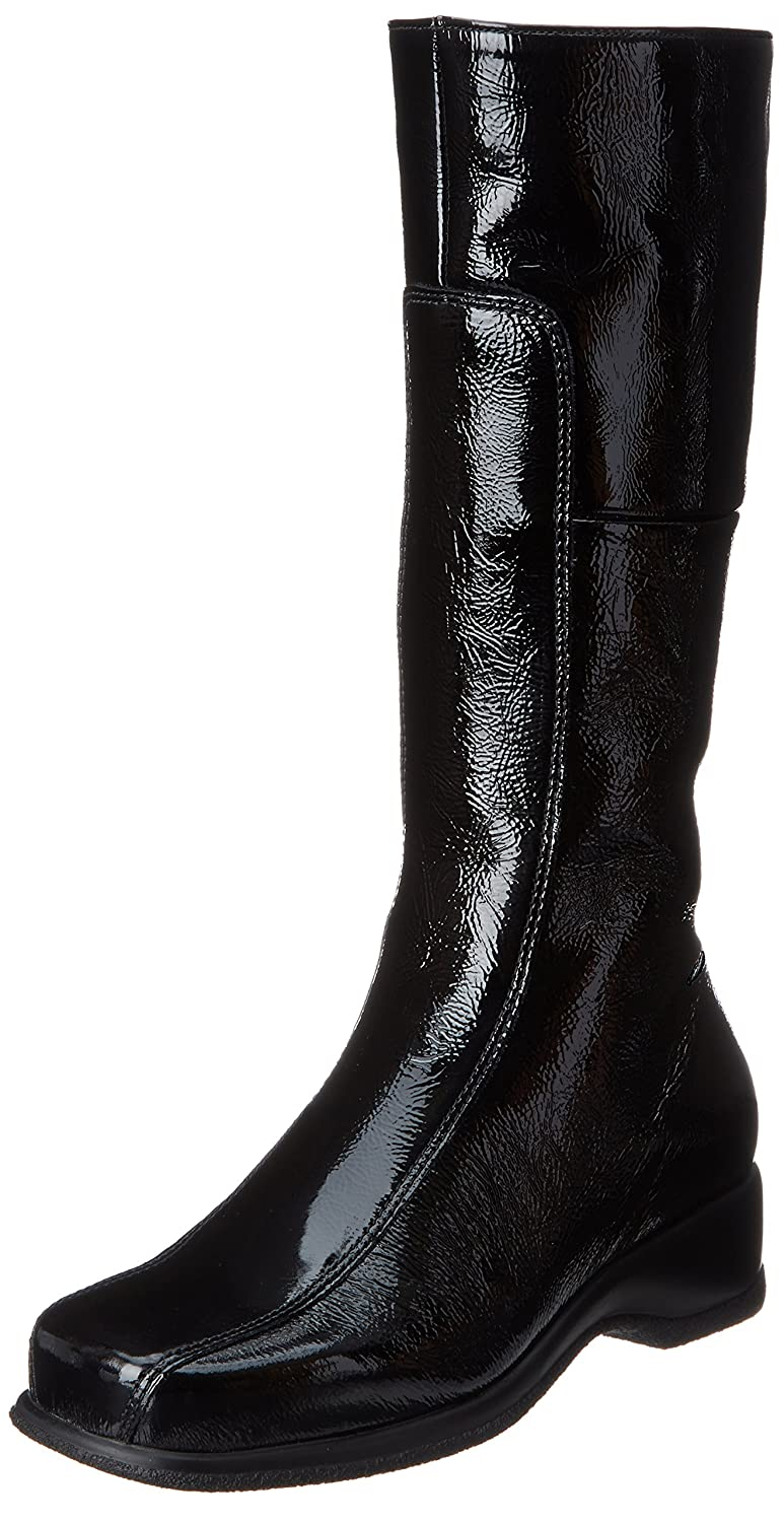 La Canadienne Women's Blanche Boot B004S8YPB0 9.5 XW US|Black Patent