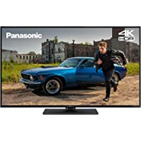 Panasonic TX-49GX551 55 inch 4K Ultra HD HDR Smart TV with Freeview Play, Black (2019)