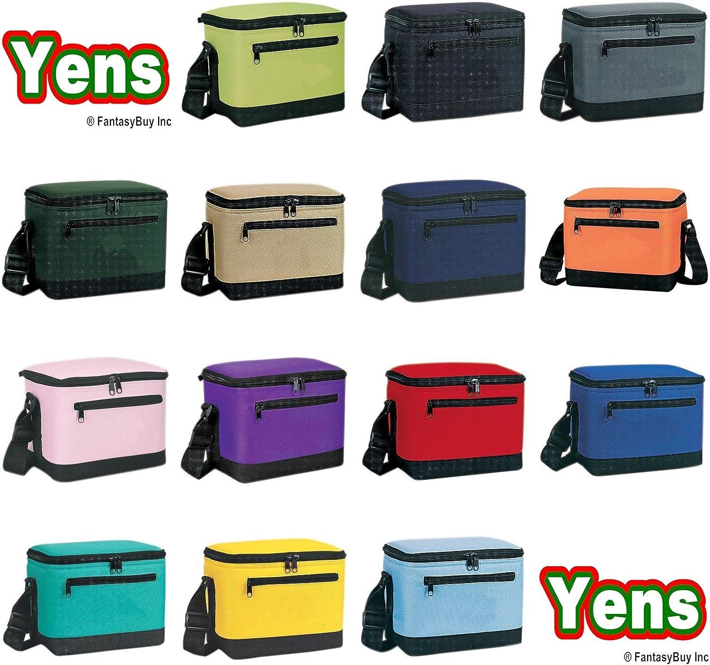Yens Fantasybag Deluxe Lunch Box Cooler Bag Cooler,6CP-2706 (Black)