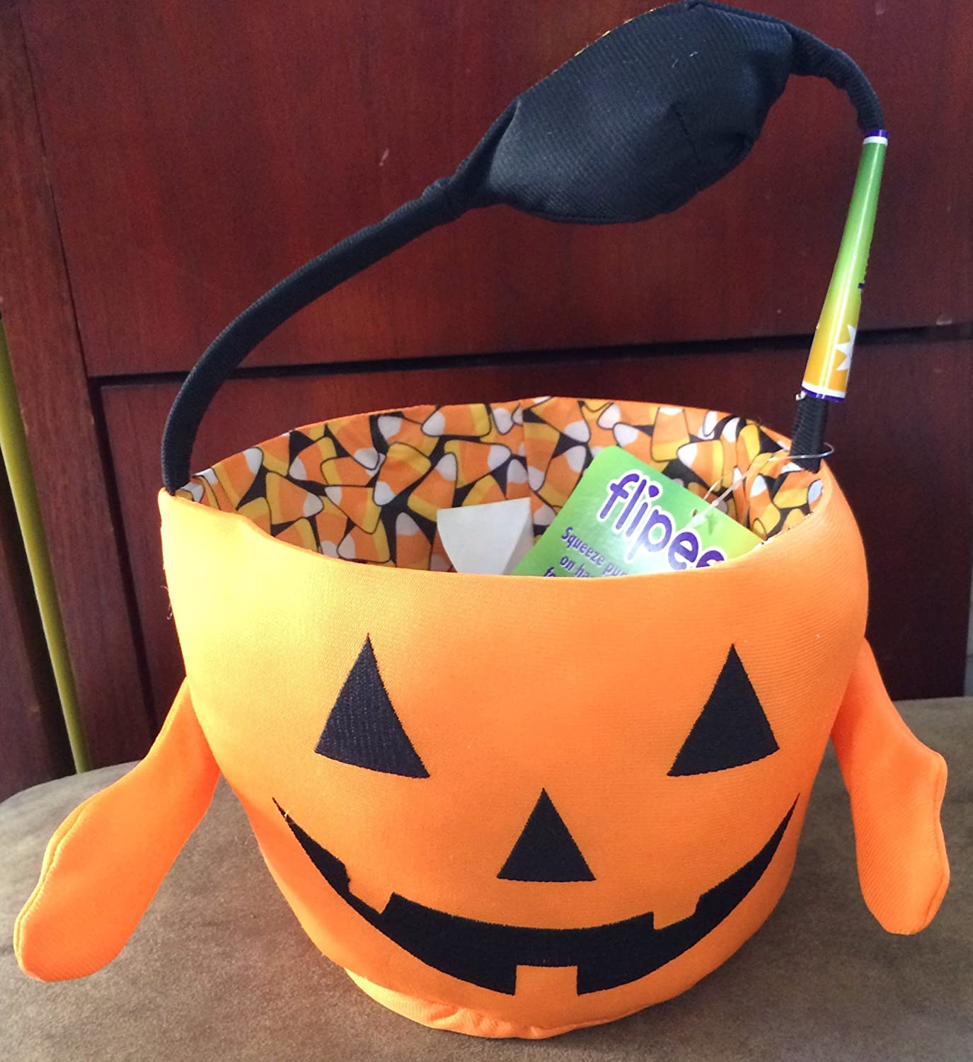 Flipeez Halloween Baskets - Pumpkin 3395986