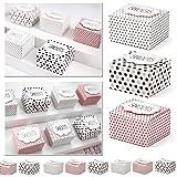 30x Geschenkboxen bunt mit Aufschrift -Sweets- als Gastgeschenk oder Mitbringsel - Kleenes Traumhandel®