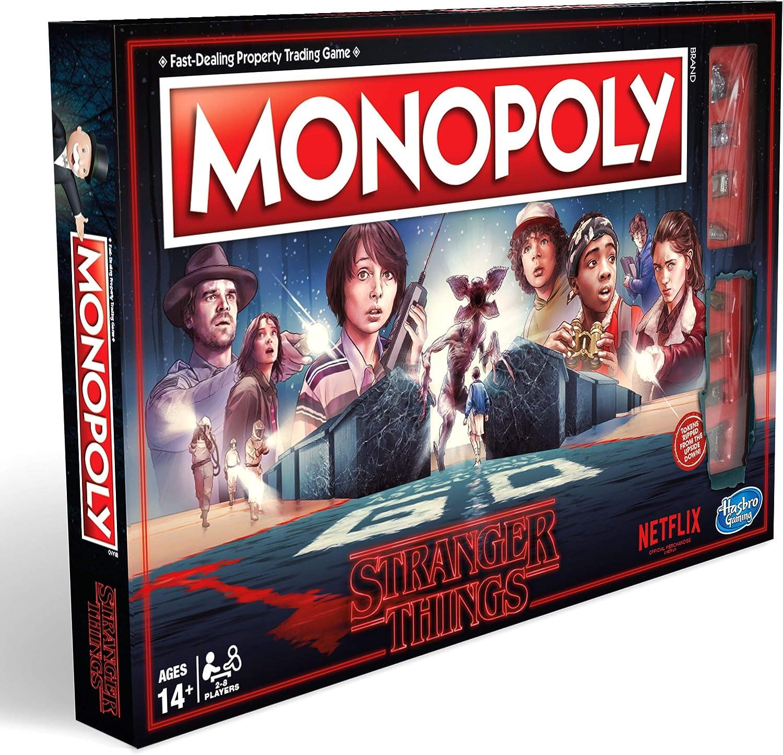 Hasbro Gaming Monopoly Stranger Things Edition: Amazon.co.uk: Toys & Games