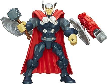 "Marvel Super Hero Mashers Captain America 6/"" Loose Action Figure"