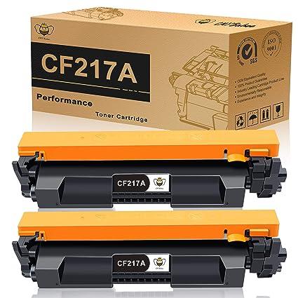 CMYBabee Cartuchos de tóner compatibles para HP 17A CF217A (con el ...