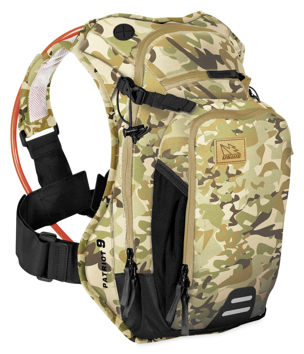 Uswe Camouflage Patriot Cb – 15 Litre Without Bladder Hydration Pack Default , Green