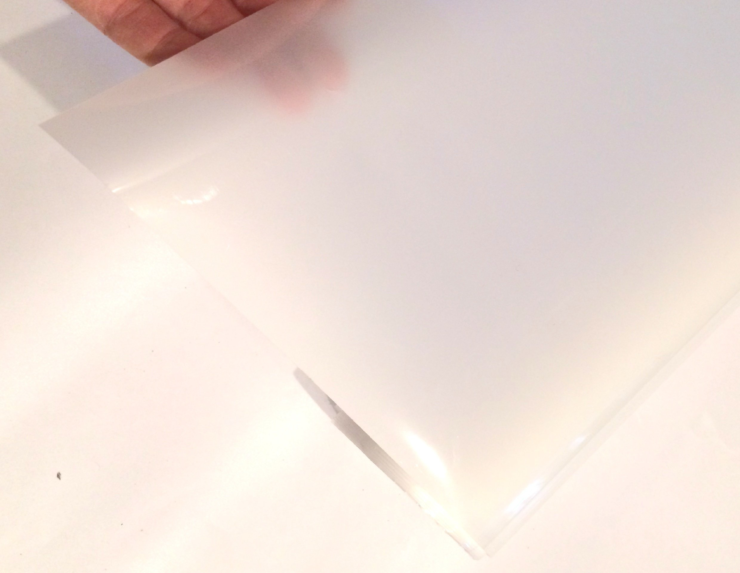 White Frosted Window Film - Size 60''x 100'