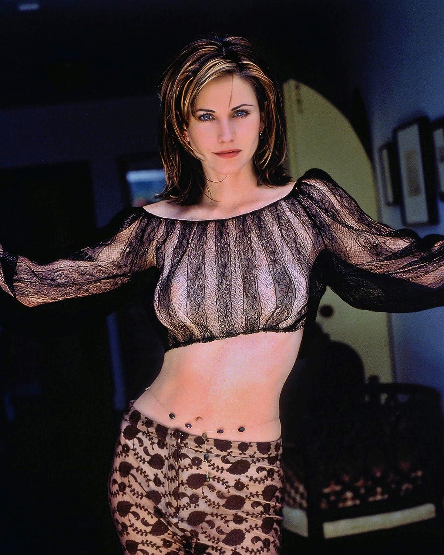 Amazon Com Sexy Courtney Cox Glossy  8x10 Photo