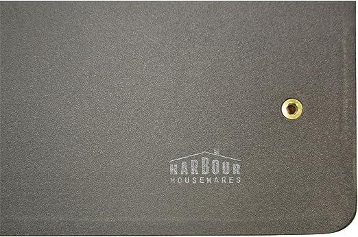 Harbour Housewares Mesa de Trabajo con Tablero de Madera - Ideal ...