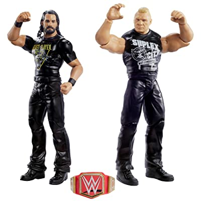 WWE Seth Rollins vs Brock Lesnar 2-Pack: Toys & Games