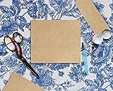 Best Paper Greetings 96-Pack Brown Kraft Letter