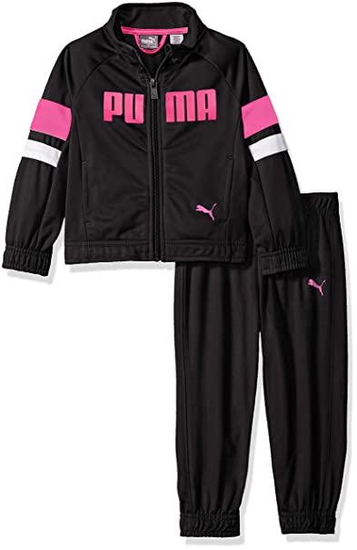 867bb4b2e8 PUMA Little Girls' Jogger Set