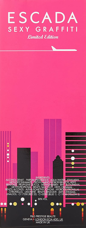 Amazon.com : Escada Sexy Graffiti (Limited Edition) Eau De Toilette Spray 3.3 Ounce : Perfumes : Beauty