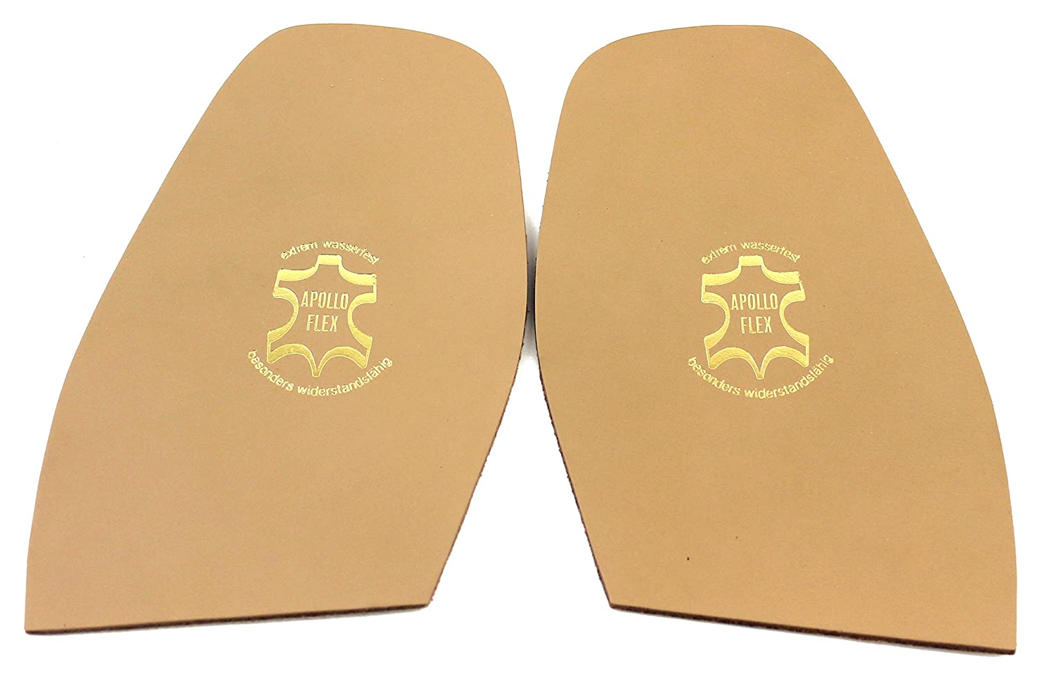 Ladies: 148 x 93 mm Leather Half Soles 1 pair for DIY Shoe Repairs High quality made in Germany!