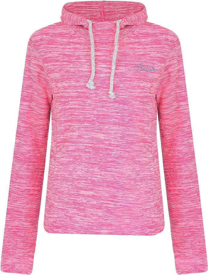 Dare 2b Women/'s Mantilla Hoodie Fleece Cyber Pink