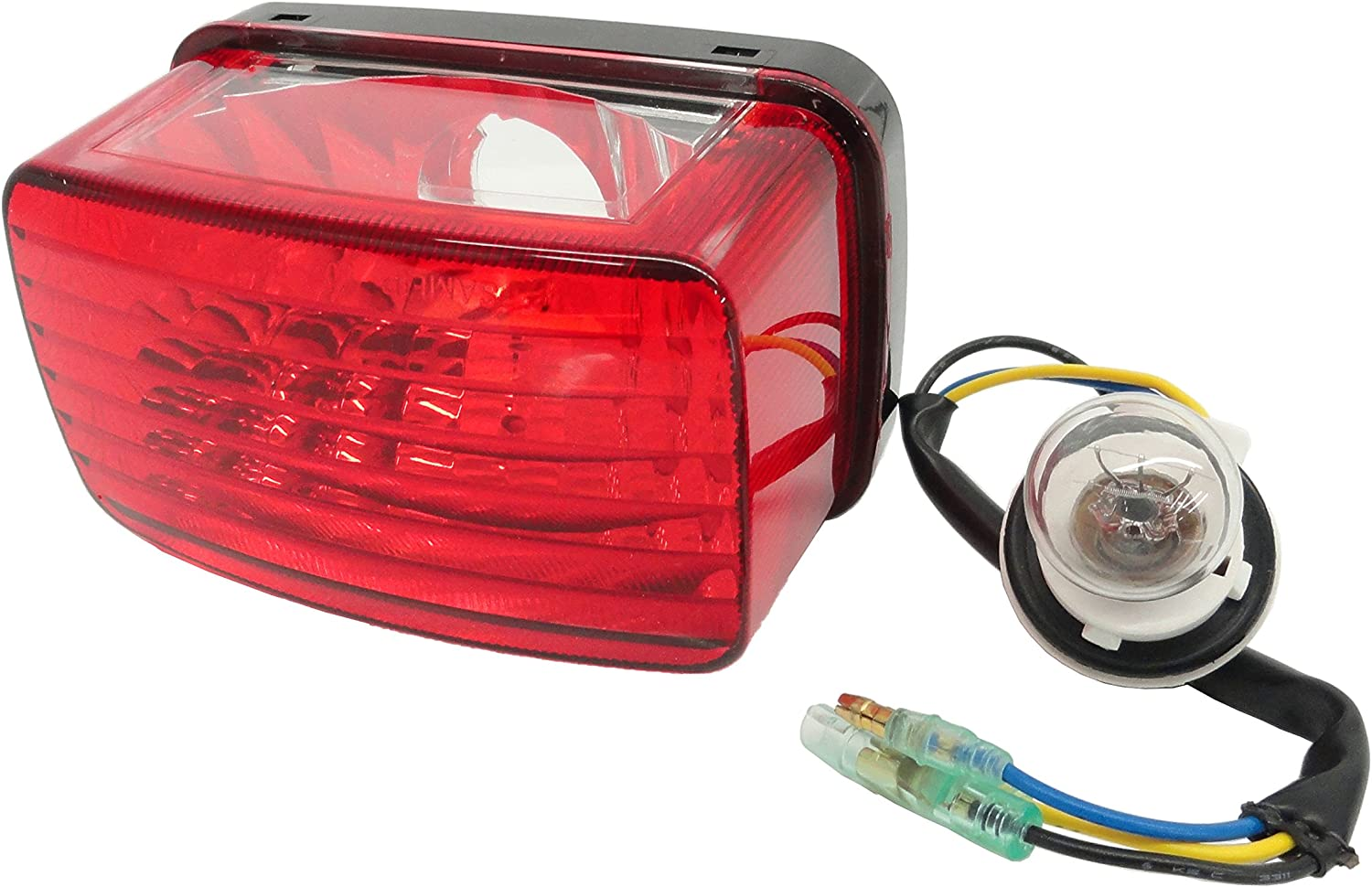 NEW COMPLETE REPLACEMENT TAILLIGHT ASSEMBLY W//BULB FOR 03-06 YAMAHA KODIAK 450