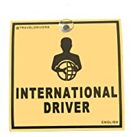 International Drivers Sign