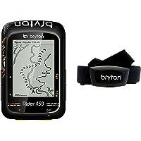 "Bryton Rider 450h GPS Cyclisme, Noir, 2.3"""