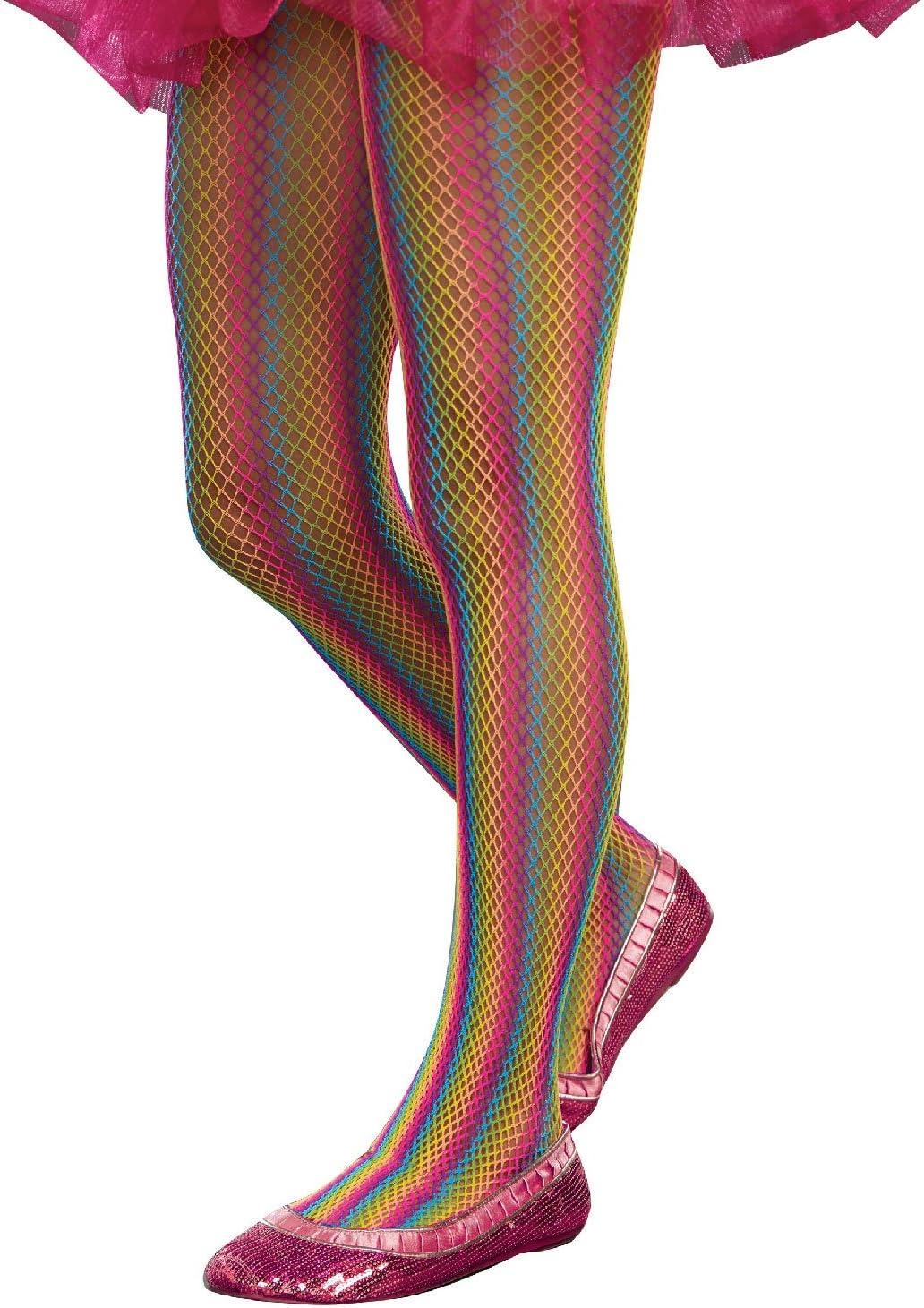 Sugar Sugar Rainbow Fishnet Tights by SugarSugar Dreamgirl