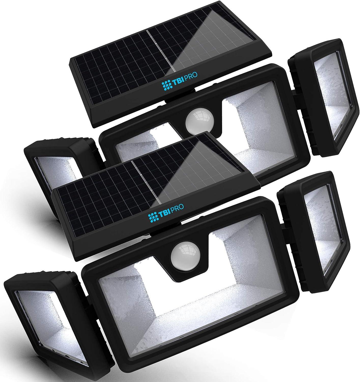 TBI solar-powered security lights