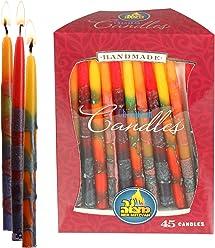 gedrehte Kerzen-Form 10,2 cm hoch f/ür Paraffin-Lampen/öl h/übsches und Elegantes Design kein Nachf/üllen passend f/ür Standard-Kerzenhalter Ner Mitzvah Kerzenhalter aus Paraffin-Glas mit Docht