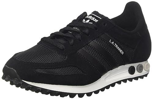 reputable site 5865d 3a6da adidas La Trainer Og, Sneaker a Collo Basso Uomo, Nero Core Black Ftwr  White, 47 1 3 EU  MainApps  Amazon.it  Scarpe e borse