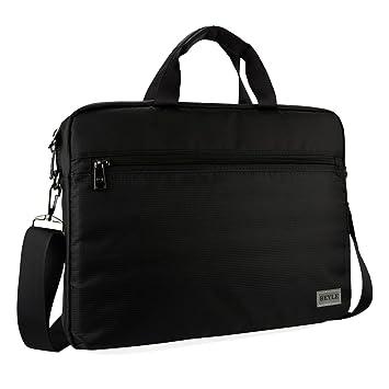 Beyle - Bolso para ordenador portátil, 15,6 pulgadas, maletín, bandolera,