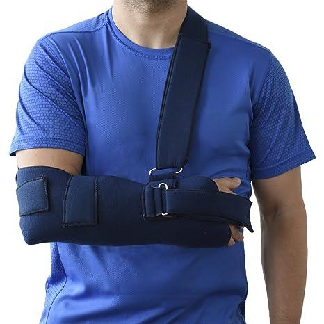 Cabestrillo Sling para hombro brazo inmovilizador ORTONES talla universal  Azul 74557425de1e
