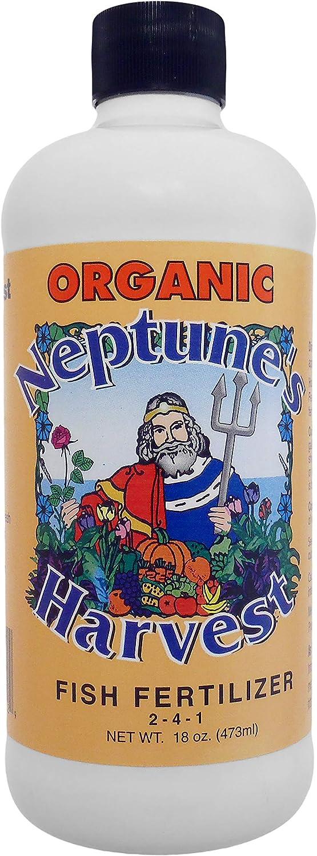 Neptune's Harvest Fish Fertilizer 2-4-1, 18 Ounce