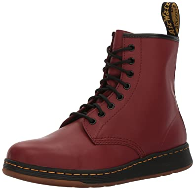194fb47951e Dr. Martens Men s Newton Boot Cherry Red 3 UK 4 ...