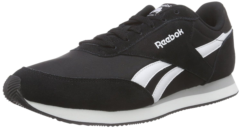 Reebok Herren Royal Classic Jogger 2 Low-Top  47 EU|Schwarz (Black/White/Baseball Grey)