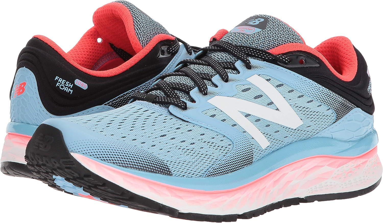 New Balance 1080v8, Zapatillas de Running Mujer, Azul (Clear Sky/Vivid Coral/Black Clear Sky/Vivid Coral/Black), 38 D EU: Amazon.es: Zapatos y complementos