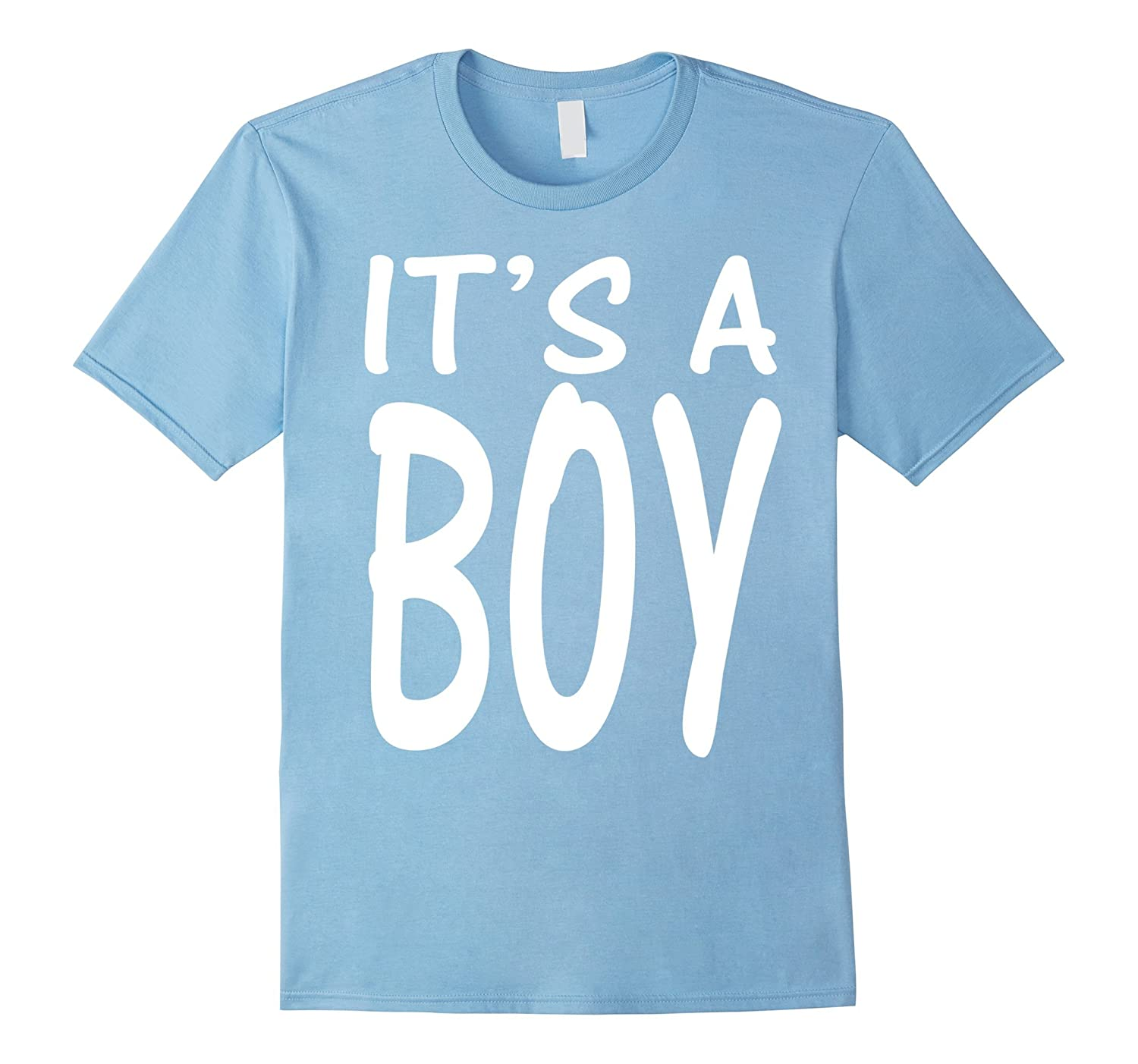 It's A Boy Blue Boy Baby Shower Adoption Gender Reveal Shirt-ANZ