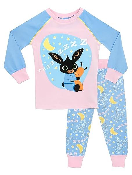Bing - Pijama para niñas - Bing - Ajuste Ceñido - 18 - 24 Meses