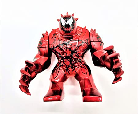Mini Spiderman Carnage Action Figure / Toy with Movable Hands (3 inches Tall)