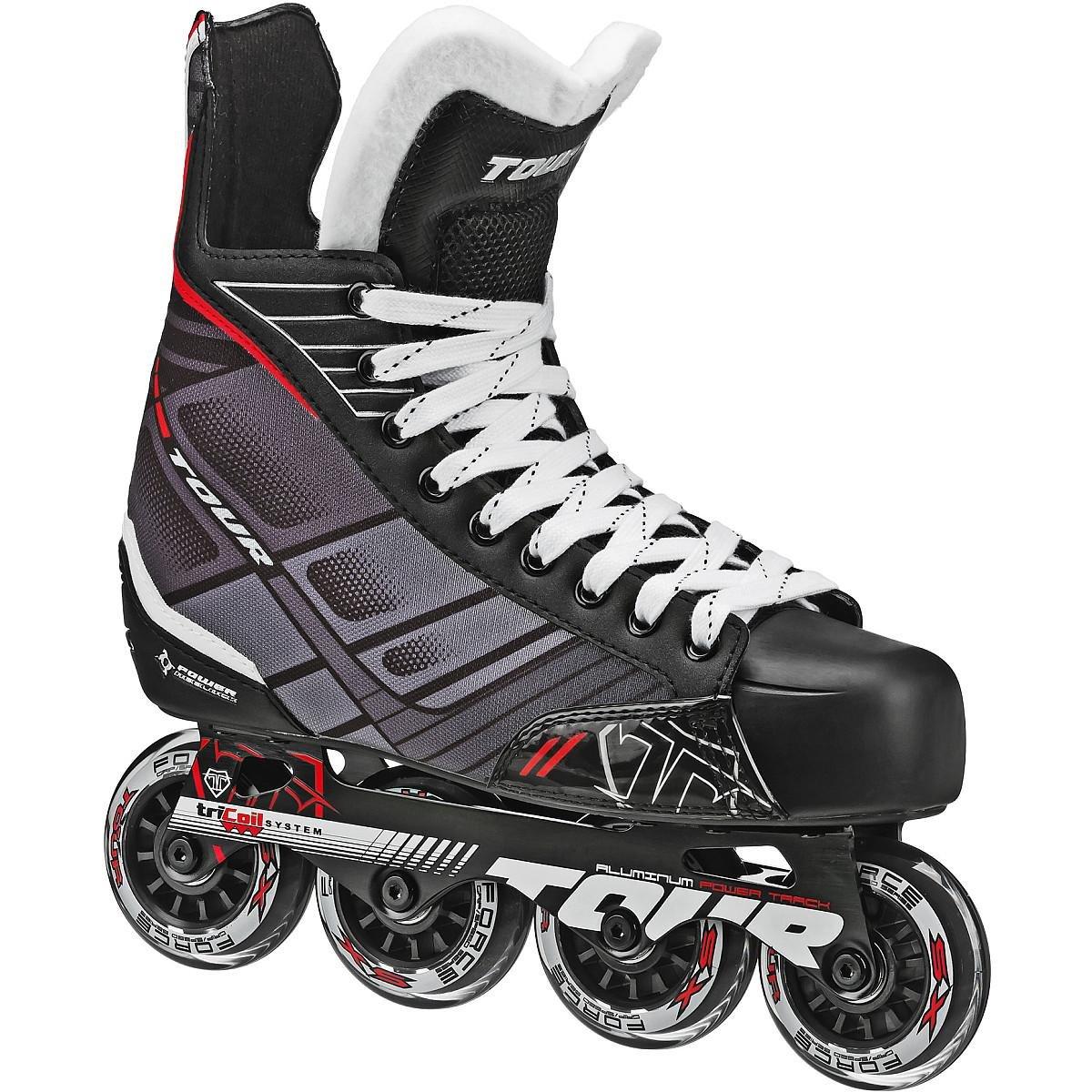 Tour Hockey 58TA-13 Senior FB-225 Inline  Hockey Skate, Size 13