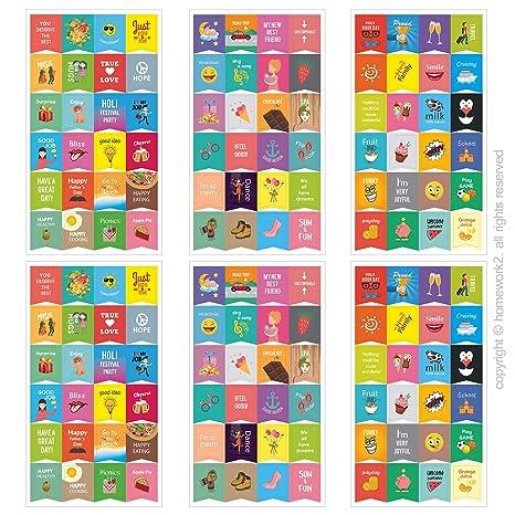 Happy Agenda pegatinas - calendario para diseños, actividad ...