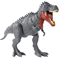 Jurassic World Massive Biters, Tarbosaurus, Larger-sized Dinosaur Action Figure with Tail-activated Strike and Chomping…